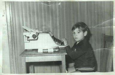 Francisco Sánchez Guisado a los 3 años
