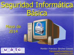 Curso de Seguridad informática básica