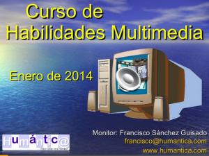 Curso de habilidades multimedia