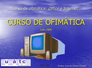 Curso de Ofimática: Informática básica
