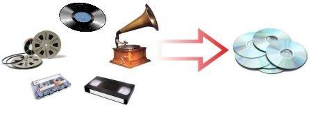 digitalizar cintas discos y vhs