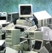 material informático reciclado