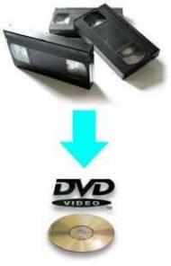 VHS a DVD