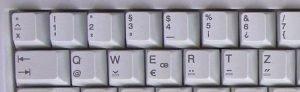 teclado quertz