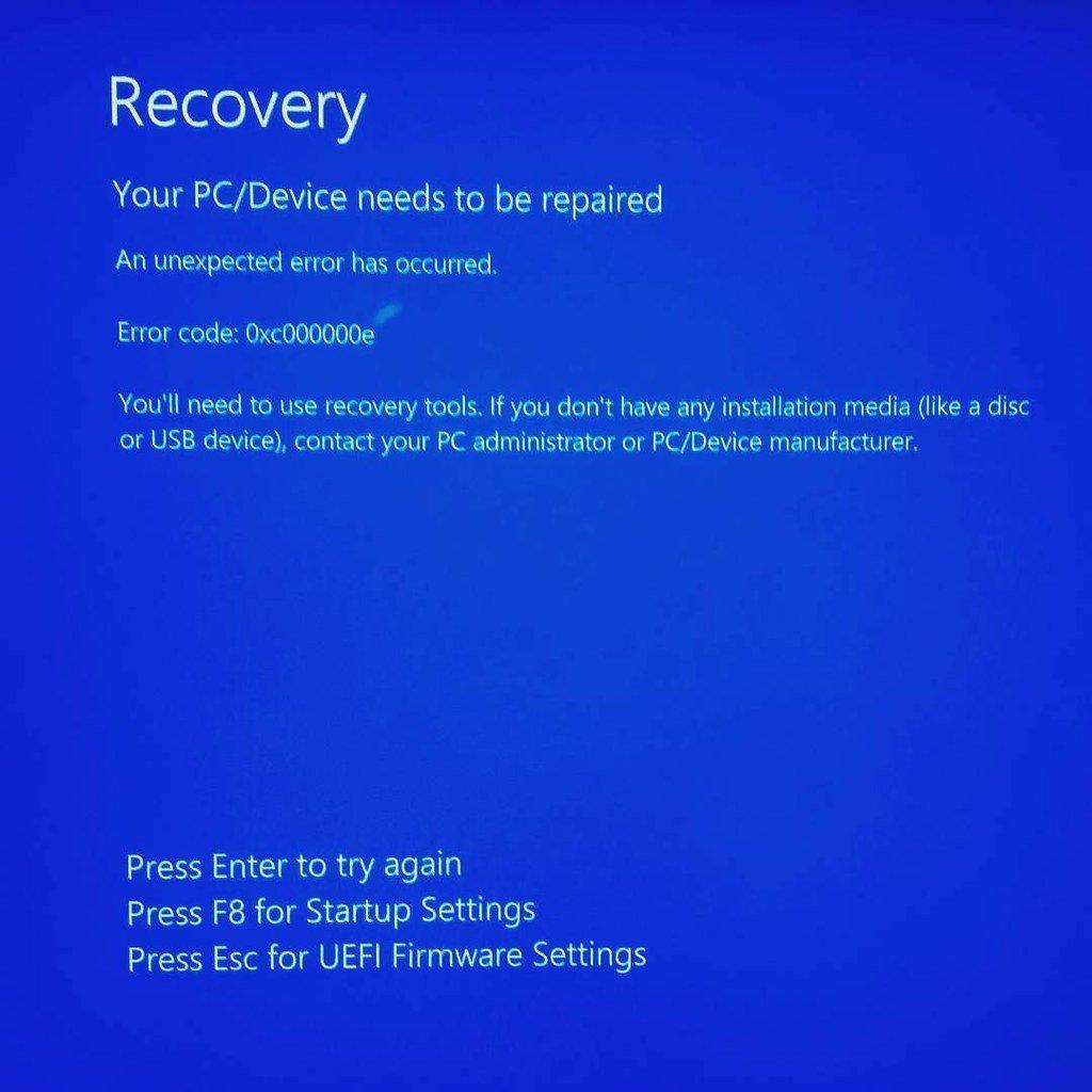 Acceder al recovery de nuestro ordenador.