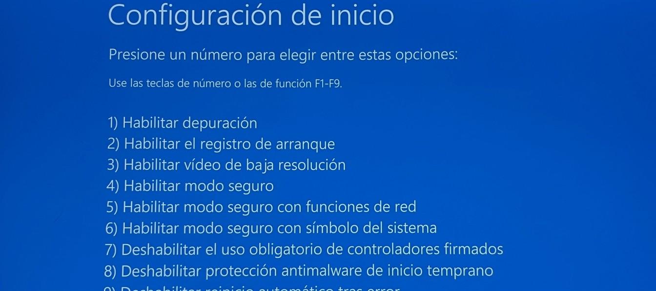 Cómo iniciar windows 10 en «modo seguro»